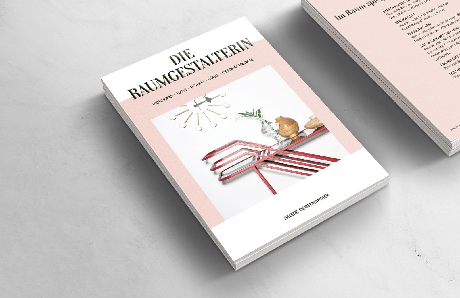 Die Raumgesalterin. Gesamtes Branding von Helene Deisenhammer Visual Storytelling for Brands